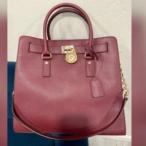 NWT Michael Kors Hamilton Traveler Large Bag